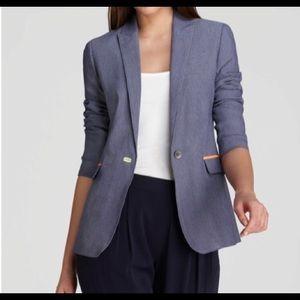 Elie Tahari Darcy Jacket Blazer in Gray